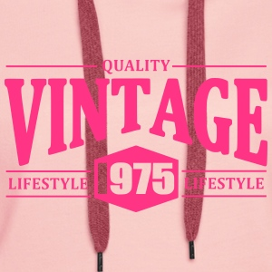 Vintage 1975 Sweat-shirts - Sweat-shirt à capuche Premium pour femmes
