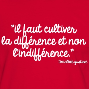Cultivons la différence Tee shirts - T-shirt contraste Homme