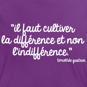 Cultivons la différence Tee shirts - T-shirt contraste Femme