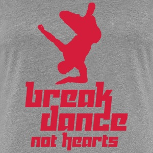 Break Dance Not Hearts (Vector) - Frauen Premium T-Shirt