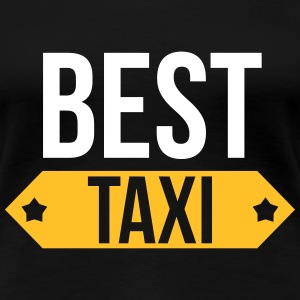 Best Taxi T-shirts - Dame premium T-shirt