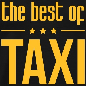 The best of Taxi T-shirts - Herre premium T-shirt