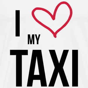 I Love my Taxi Tee shirts - T-shirt Premium Homme
