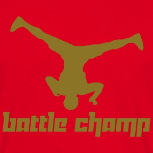 Battle Champ (Vector) - Men's T-Shirt