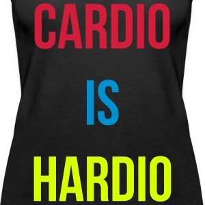 Cardio is Hardio Tops - Women's Premium Tank Top