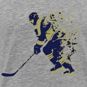 Ice Hockey Player - Men's Premium T-Shirt