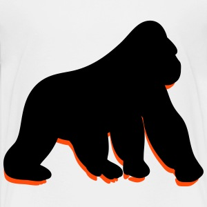 A wild gorilla Shirts - Teenage Premium T-Shirt