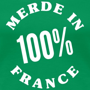 Merde in France_V1 T-shirts - Vrouwen Premium T-shirt