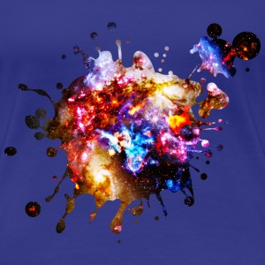 Colorful Cosmos T-Shirts - Women's Premium T-Shirt