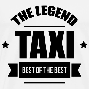 Taxi, the legend T-shirts - Herre premium T-shirt