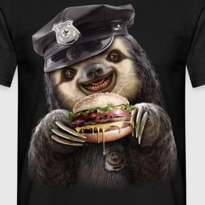 BURGER COP - Men's T-Shirt