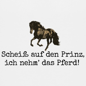 Teenager T-Shirt Scheiß auf den Prinz! Pferd Pony - Teenager Premium T-Shirt