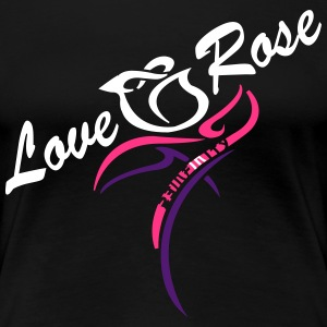 Love Rose T-Shirts - Women's Premium T-Shirt