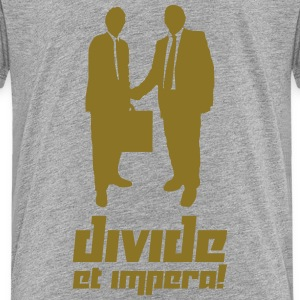 Divide et impara! (Vector) - Teenage Premium T-Shirt