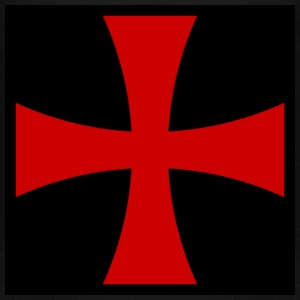 templar cross3 - Teenager Premium T-Shirt