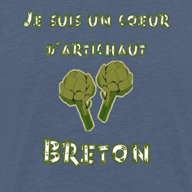 Je suis un coeur d'artichaut breton