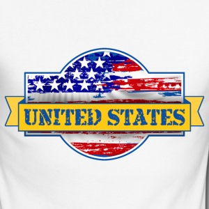 United States of  America Long sleeve shirts - Men's Long Sleeve Baseball T-Shirt