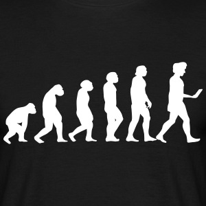evolution men smartphone evolución ape T-Shirts - Männer T-Shirt