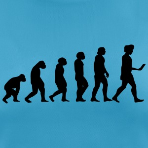 evolution men smartphone evolución ape T-shirts - vrouwen T-shirt ademend