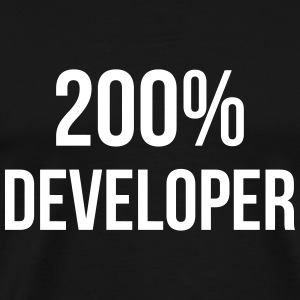 200% Developer T-Shirts - Men's Premium T-Shirt