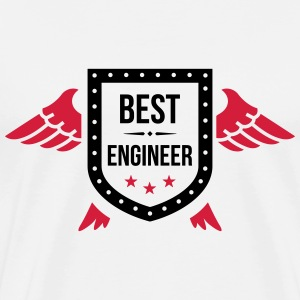 Best Engineer  T-Shirts - Männer Premium T-Shirt