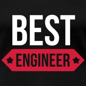 Best Engineer  T-shirts - Dame premium T-shirt