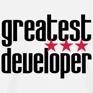 Greatest Developer Camisetas - Camiseta premium hombre