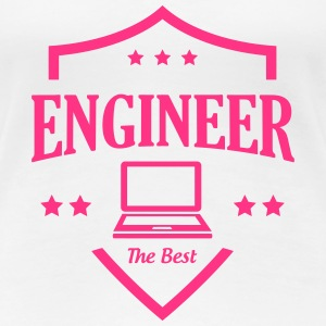 Engineer  T-shirts - Dame premium T-shirt