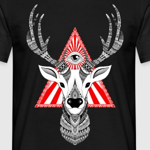 Magical Deer - Cerf - T-shirt Homme