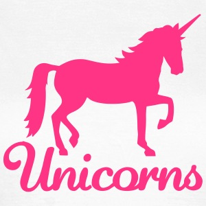 Unicorns T-Shirts - Frauen T-Shirt