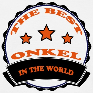 The best onkel in the world 111 T-shirts - Herre-T-shirt