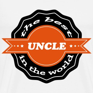 The best uncle in the world 111 T-Shirts - Männer Premium T-Shirt