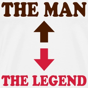 The man - the legend 222 Tee shirts - T-shirt Premium Homme