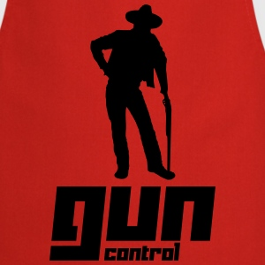Gun Control (Vector) - Cooking Apron