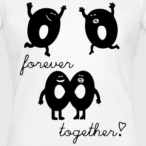forever together T-Shirts - Frauen T-Shirt