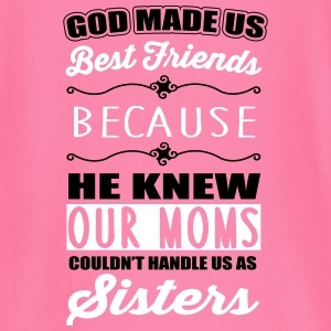 God made us best friends - BFF Shirts met lange mouwen - T-shirt
