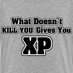 What doesn't kill you gives you XP T-shirts - Premium-T-shirt tonåring