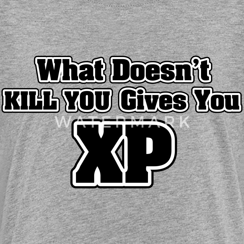 What doesn't kill you gives you XP Skjorter - Premium T-skjorte for tenåringer