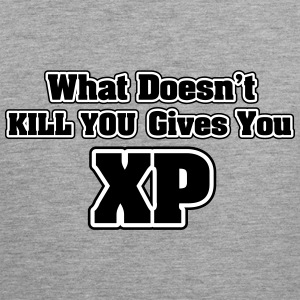 What doesn't kill you gives you XP Canotte - Canotta premium da uomo
