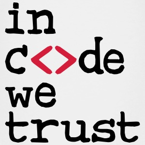 in code we trust ! Shirts - Teenage Premium T-Shirt