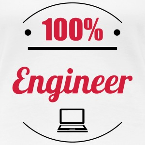100% Engineer T-Shirts - Frauen Premium T-Shirt