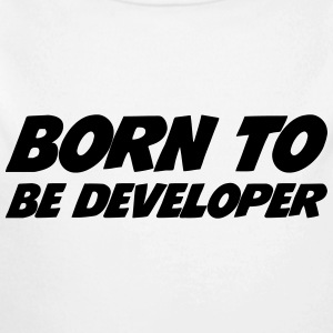 Born to be developer Sweaters - Baby bio-rompertje met lange mouwen