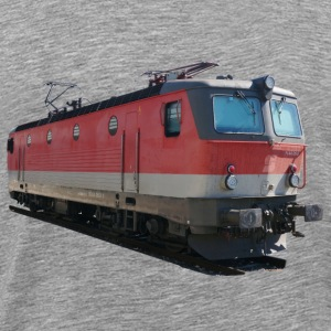 Locomotive ÖBB1144 T-shirts - Herre premium T-shirt