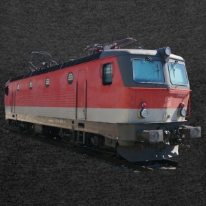 Locomotive ÖBB1144 T-Shirts - Women's T-shirt with rolled up sleeves