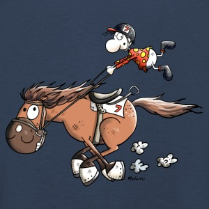 Rapid Race Horse Long Sleeve Shirts - Kids' Premium Longsleeve Shirt