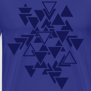 Triangles motif graphique Tee shirts - T-shirt Premium Homme