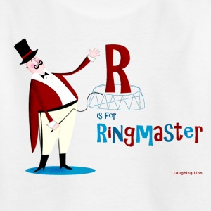 R is for Ringmaster Teen's T - Teenage T-shirt