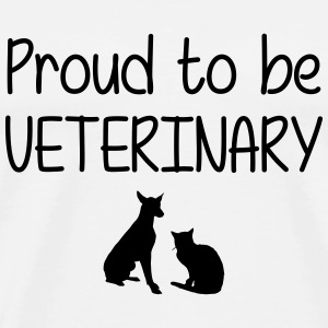 Proud to be Veterinary T-shirts - Mannen Premium T-shirt