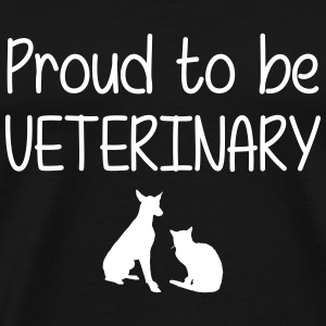 Proud to be Veterinary T-Shirts - Men's Premium T-Shirt