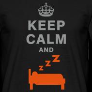 Design ~ Keep calm and sleep T-shirt